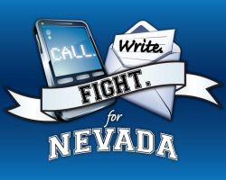 Call, Write, Fight for Nevada by caitlinajohnson