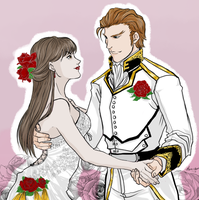 The Wedding by Meiru-chan