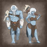 U'rth: The Jotun by Blazbaros