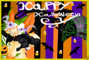 Happy Halloween wallpaper by brenstar345
