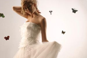 Butterfly Bride by albertofoto - Kelebek Severler ��in ;)
