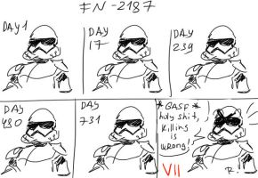 Star Wars: The Force Awakens - doodles #9 by Ayej