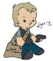 jack bauer plushie by Purp1eDragon