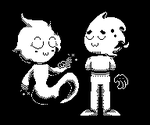 Ghostlies ||Undertale sprite style by Mental-D-Andrew