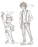 Leo Valdez meets Felix Jr by odairwho