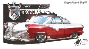 1955 Crown Victoria_Happy Fathers Day to all by wsache007