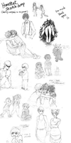 HS Sketchdump 1 by Miata-4