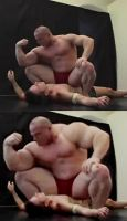Muscle Wrestling 028 by necryll