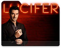 Lucifer TV series folder icon by that-eerie-knock