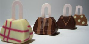 Choccy Handbags II by Mueymue