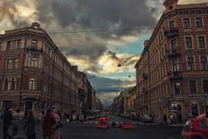 Street Perspective by irahmanli