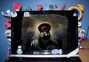 RA Style Laptop by BlueSmudge