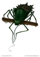 RPG character Fisher Spider (Fischerspinne) by Colin-Ashcroft
