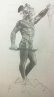Perseus (After Cellini sculpture) by treknobo