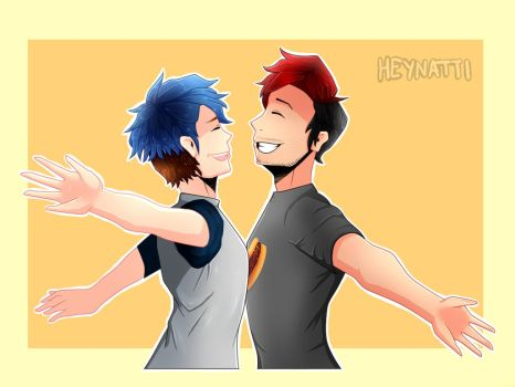 Mark and Ethan by Natti10