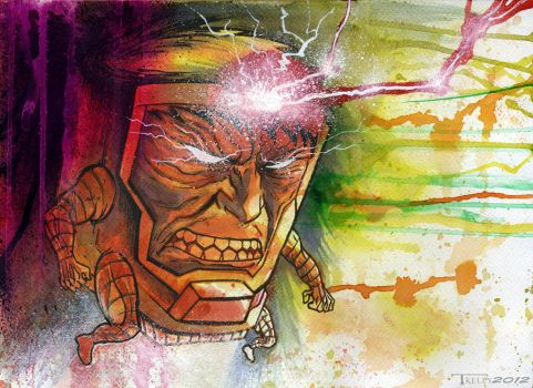 Modok point 1 by TomKellyART