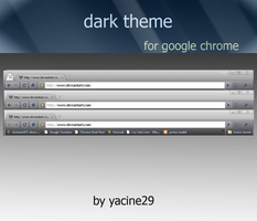 dark theme for google chrome by yacine29