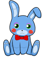 Toy Bonnie by ALilAngelKitty