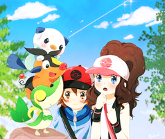 Pokemon Black n White by Ryotashisamax3