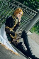 Kamijo on bridge by Kleim