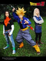 Dragonball Z History of Trunks Cosplay by jeffbedash325