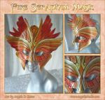 Fire Seraphim Mask by Angelic-Artisan