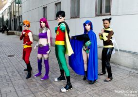 Teen Titans Cosplay 2 by PaulomaticaCosplay