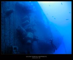 Salem Express Shipwerk Red Sea by ramywafaa