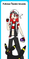 Pokemon Trainer Selvaina :D by thelustygiraffe