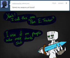 Pen E. Traitor by Ask-Creeps-and-Lanky