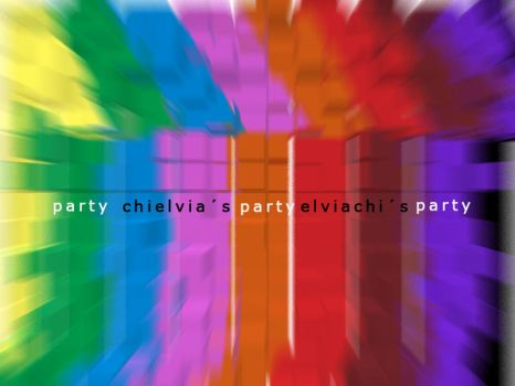 flyer chielvias party by LICG