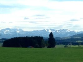The Alps by Tohmis