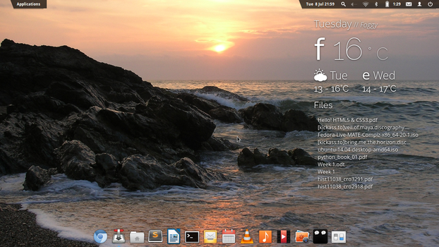 Elementary OS 8 July 2014 - Workstation by fetyr2004