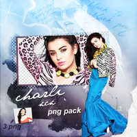PNG PACK (109) Charli XCX by DenizBas