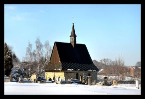Old Cemetery And Little Church In Czchow by skarzynscy