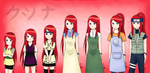 Kushina collection! by relievez-z
