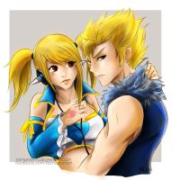 Lucy x Laxus by Namwhan-K