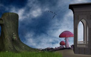 Premade Background  1085 by AshenSorrow