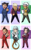 Ace Attorney by CoolBlueX