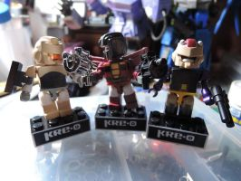 Custom Kreon Krok, Fulcurm, and Misfire by eabevella