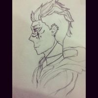 Mohawk Dude...Yeah I don't know. by kankrivanbooty