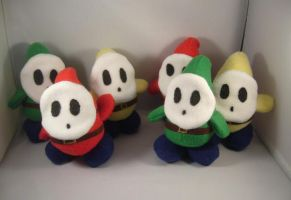 Mario Shyguy plush army by pandari