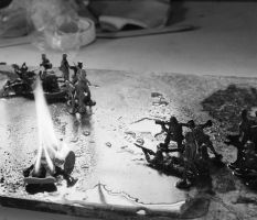 Iraq War in Miniature by Mike79Baker