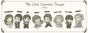 The Little Operetta Troupe by maryfgr23