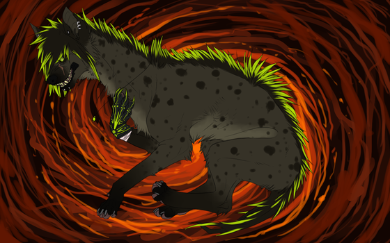 I fell into a burning ring of fire~ by Vosska