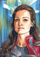 Aceo: Lady Sif by saniika