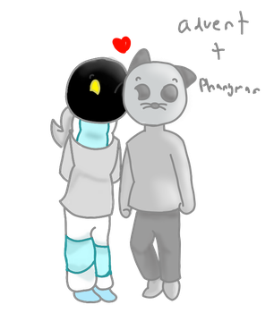 The OTP is real. by oddballtentacle