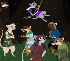 .::Mousey Friends::. by Kalza