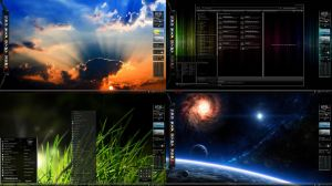 7even 4our 8ight Windows 7 Desktop Theme for Win 7 by ionstorm01