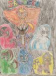 The Marelovent Six by TobiIsABunny